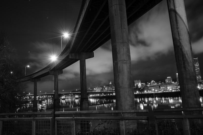 Steel and Burnside Bridges 013118-1