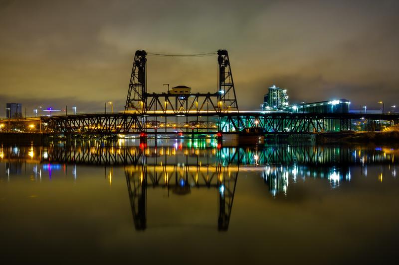 Steel and Burnside Bridges 013118-11