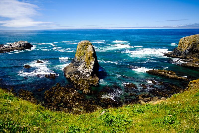 Beach Tidepools Lighthouse 061817-65