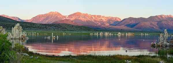 Sunrise on Mono Lake - California