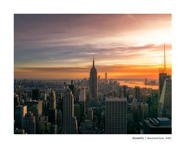 Giants   Manhattan, NYC