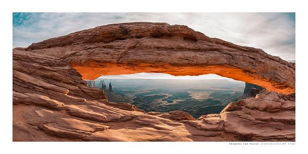 Framing the Valley   Canyonlands NP, Utah