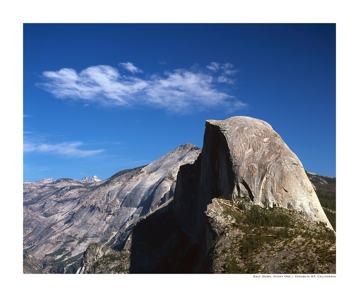 Half Dome, Study One | Yosemite NP, California
