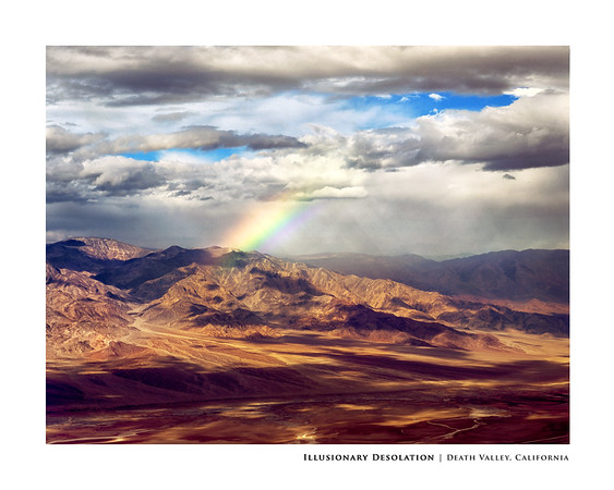 Illusionary Desolation | Death Valley, California