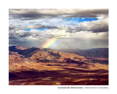 Illusionary Desolation   Death Valley, California