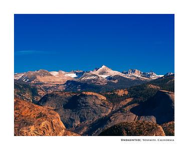 Undaunted   Yosemite, California