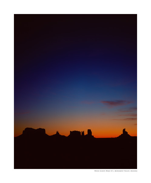 When Giants Wake Up | Monument Valley, Arizona