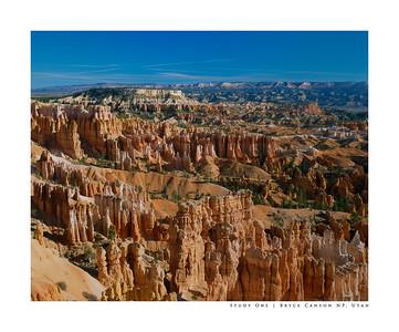 Study One | Bryce Canyon NP, Utah