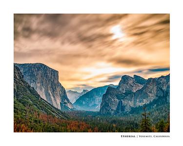 Ethereal   Yosemite, California