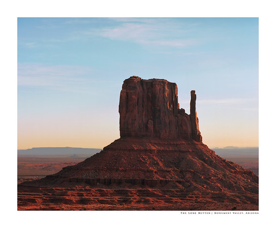 The Lone Mitten | Monument Valley, Arizona