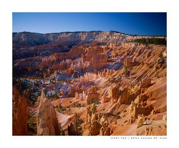 Study Two | Bryce Canyon NP, Utah