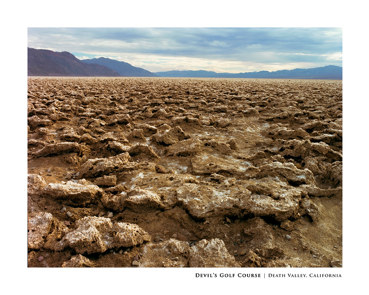 Devil's Golf Course | Death Valley, California