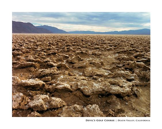 Devil's Golf Course | Death Valley, California