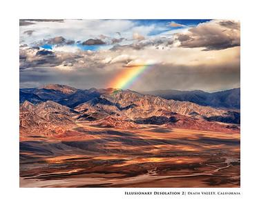 Illusionary Desolation 2   Death Valley, California