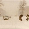 Washington, DC  -- Blizzard of 1983