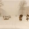 Washington, DC  -- Blizzard of 1983