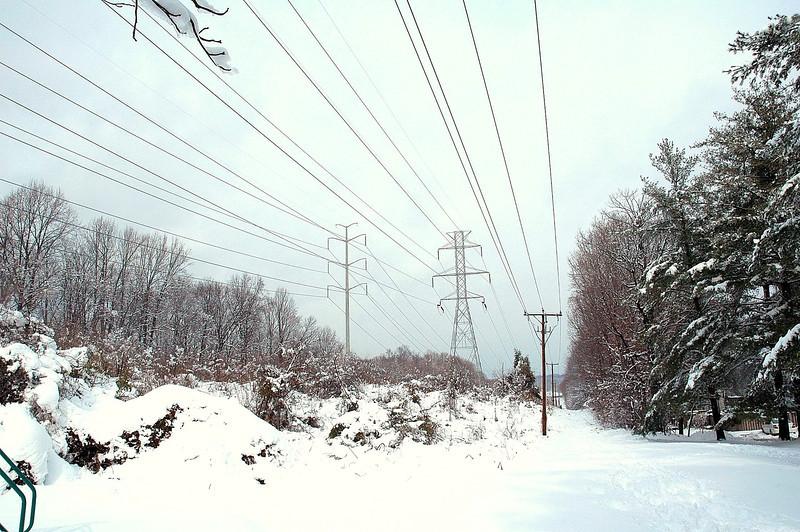 Snow & Power Lines