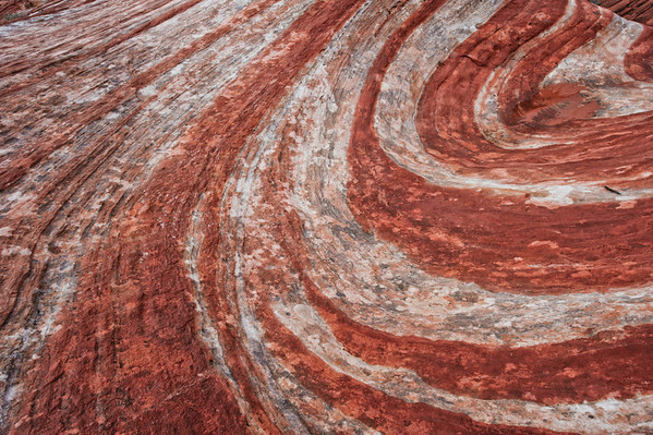 Fire Wave Sandstone Abstract - Valley Of Fire - Nevada