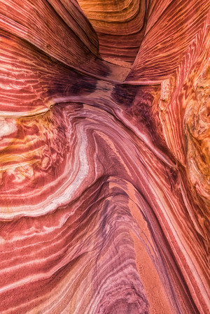 """The Wave"" Area Abstract - North Coyote Buttes - Arizona/Utah Border"