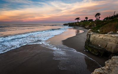 Looking south.. West Cliff, Santa Cruz CA