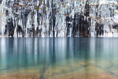 Precipice Lake Cliffs 2