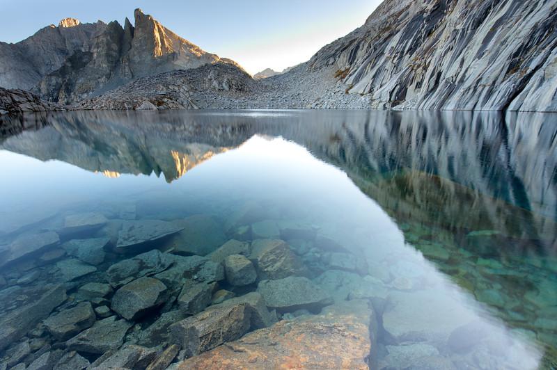 Eagle Scout Peak Reflected in Precipice Lake 2