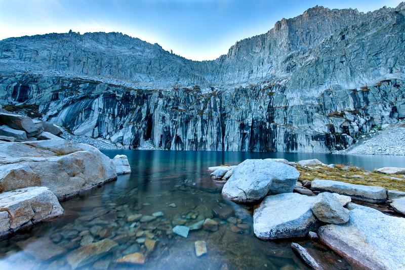 Precipice Lake Outflow