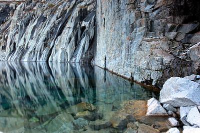 Precipice Lake Reflection