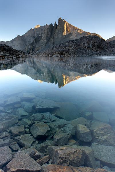 Eagle Scout Peak Reflected in Precipice Lake