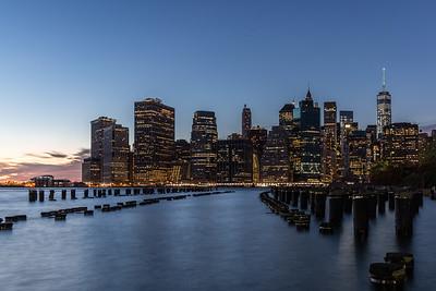 Lower Manhattan at Night