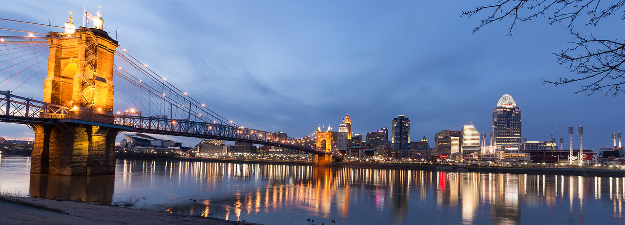 Cincinnati Roebling bridge