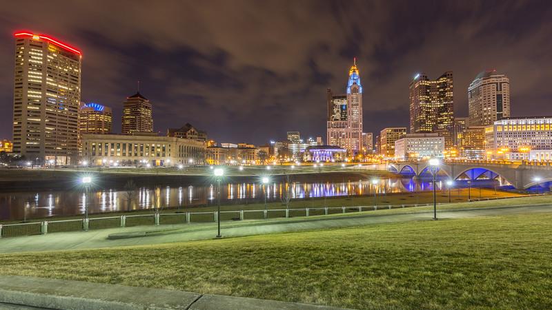 Columbus, OH skyline