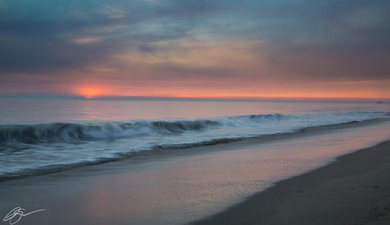 Painted Waves II