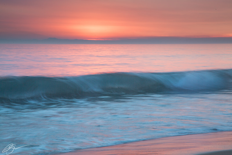 Painted Waves I