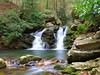 Gee Creek twin falls