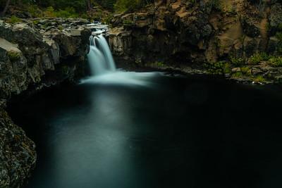 Lower McCloud falls, CA
