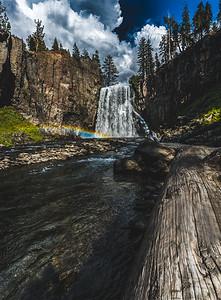 Rainbow Falls, CA