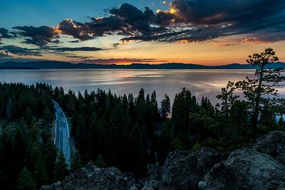 Lake Tahoe CA, Eagle Rock