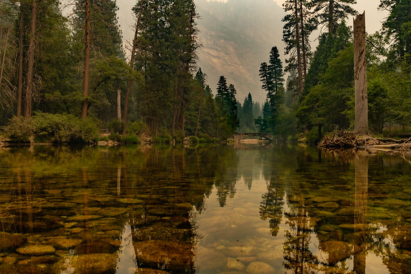 Bridge in Yosemite