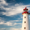 The Point Prim Lighthouse is the first and oldest lighthouse on Prince Edward Island.