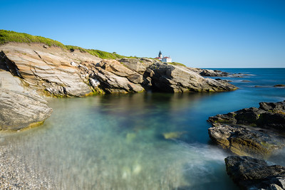 Cove overlooking Beavertail Lighthouse