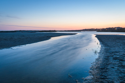 Tidal River At Dawn