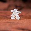 Sea Glass Inukshuk Stack