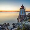 Sunset at Castle Hill Lighthouse on Newport, Rhode Island 7