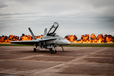 Grounded CF-188