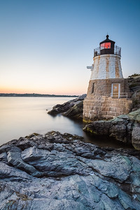 Sunset at Castle Hill Lighthouse on Newport, Rhode Island 6
