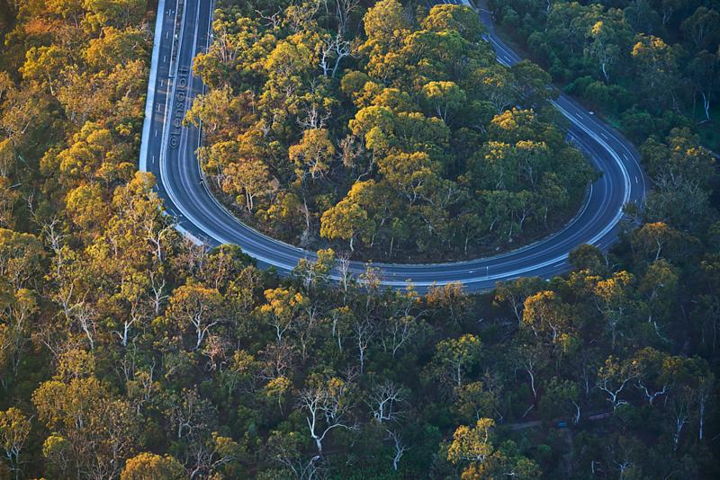 U Turn - Yarra Boulevard, Melbourne