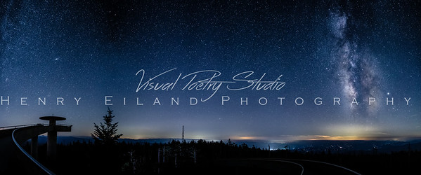The Milky Way Over Clingmans Dome