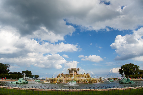 Buckingham Fountain, Duh