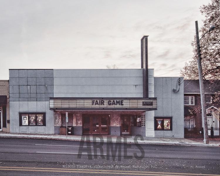 Rialto Theatre, Glenwood Avenue, Raleigh, NC